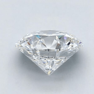 1.5 carat diamond D color VS1 clarity viewed from the side