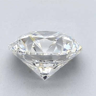 1.5 carat diamond G color VS1 clarity viewed from the side