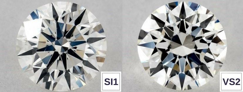 Si1 Vs Vs2 Diamond Clarity Grade Comparison Stonealgo